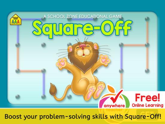 Square-Off Game iPad Screenshot 1