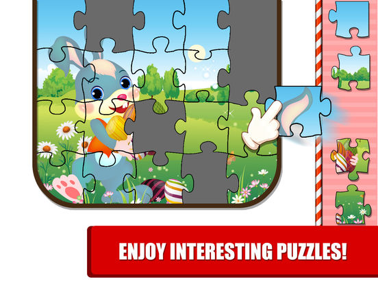 Kids Bunny Jigsaw Puzzle Easter Games screenshot 7