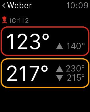 iGrill iPhone Screenshot 7