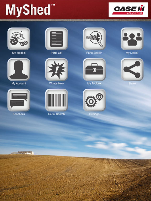 Case ih my shed powered by partstore apprecs for My shed app