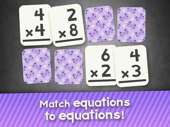 Multiplication Flash Cards Games Fun Math Practicescreeshot 5