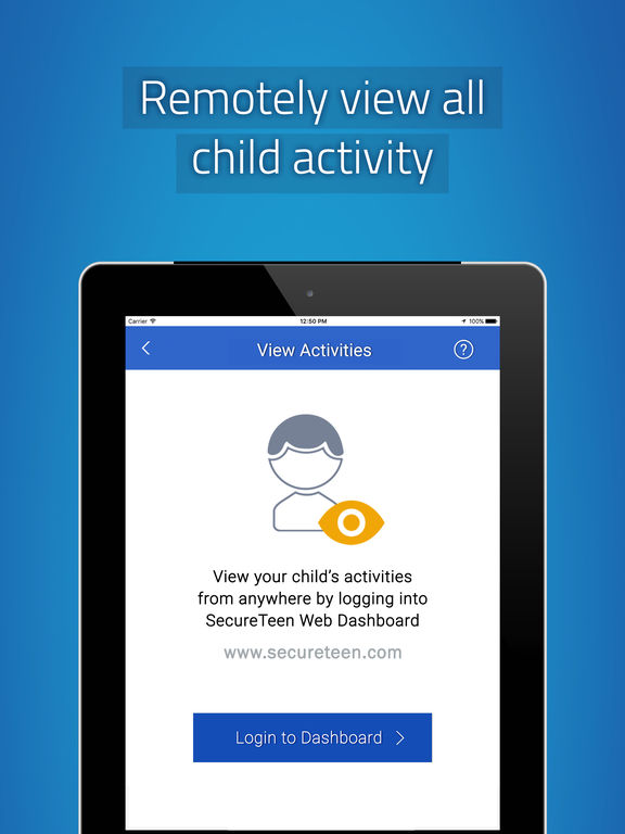 SecureTeen Parental Control Screenshot
