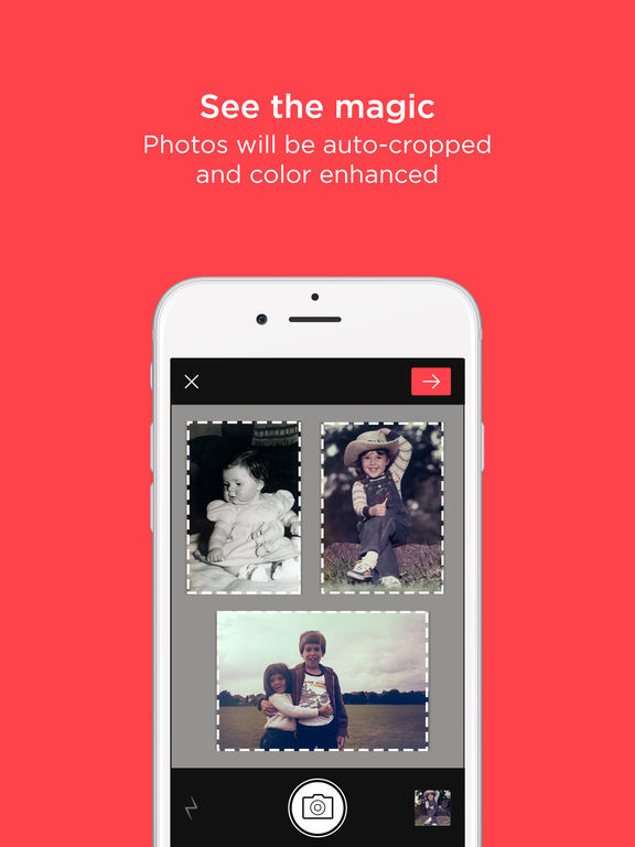 Scanner App by Photomyne: Scan & Auto-Crop Photos Screenshots