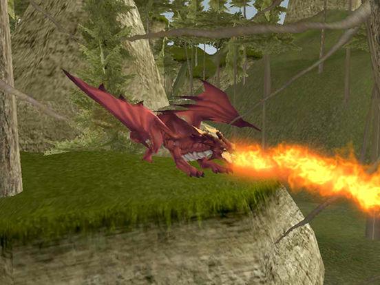 VR Супер Полет Огненный дракон-Real 3D симулятор Скриншоты9
