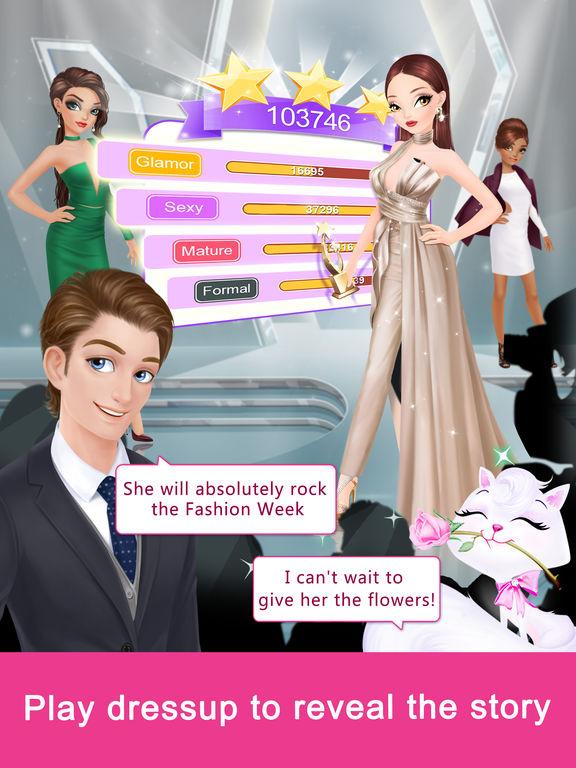 Fashion Fantasy - Dressup and Travel the Worldscreeshot 1