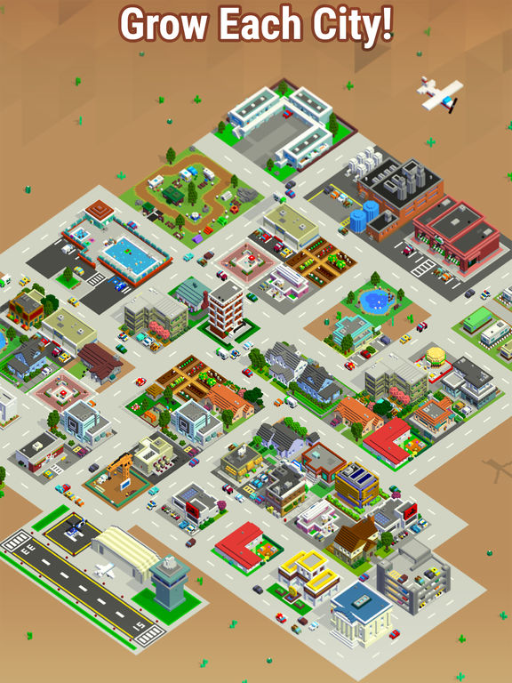 Image of Bit City for iPad