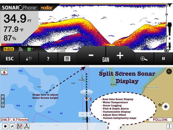 App shopper minnesota fishing lake maps navigation for Fishing gps apps