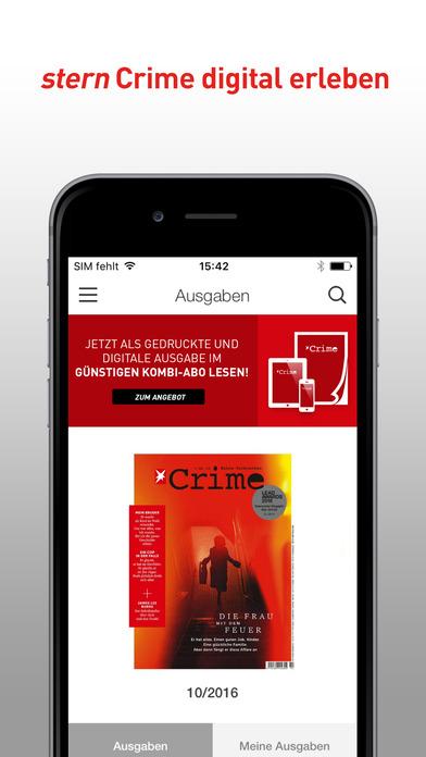 app shopper stern crime das true crime magazin newsstand. Black Bedroom Furniture Sets. Home Design Ideas