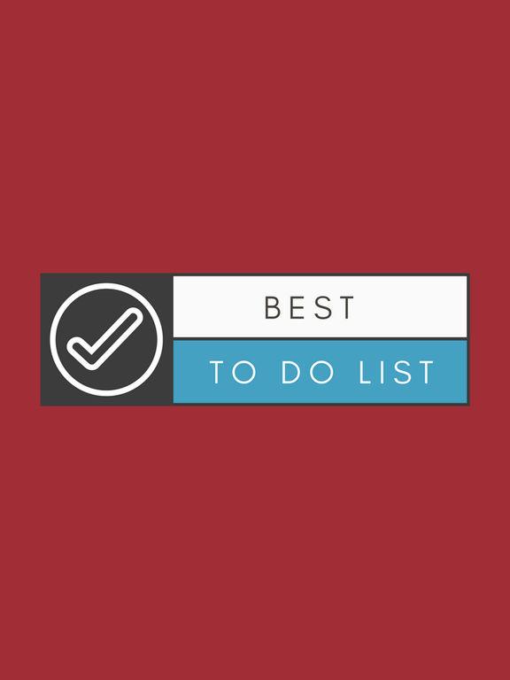 Best To Do List Screenshots