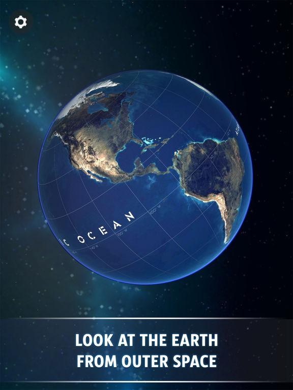 Screenshot #3 for Globe 3D - Planet Earth