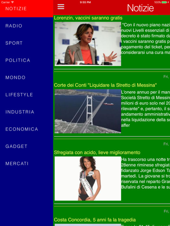 Italian news & radios Screenshots