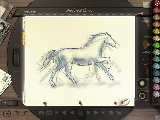 Animation Desk for iPad iPad Screenshot 1