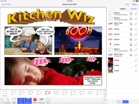 Strip Designer iPad Screenshot 1