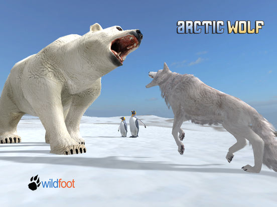 Arctic Wolf для iPad