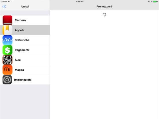 iUnical iPad Screenshot 3