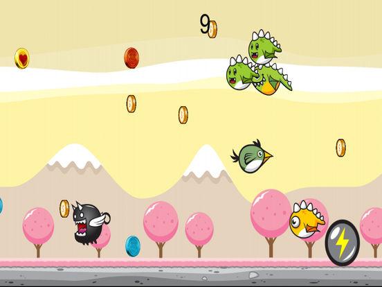 Greeny Bird Cotton Candy World Dasher screenshot 4