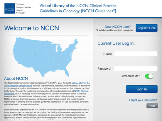 NCCN Guidelines® on the App Store