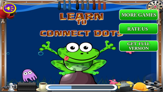 Dot to Tot - Connect Alphabets Pro Screenshot