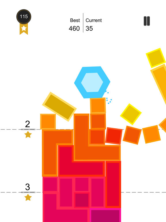 Tap Falling:Crush the tower of blocks screenshot 6