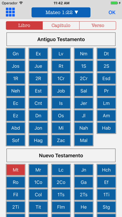 Biblia Bilingüe Inglés Español - KJV Reina Valera screenshot 2