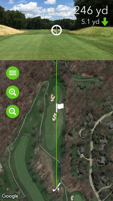Golf Sight: Slope-Adjusted Rangefinder Screenshots