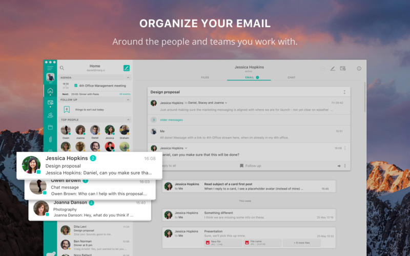 4th Office - Email app for Gmail & Outlook for Mac