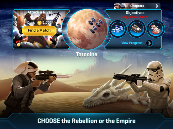 Screenshot #5 for Star Wars™: Commander