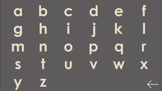 Intro to Letters, by Montessorium Screenshots