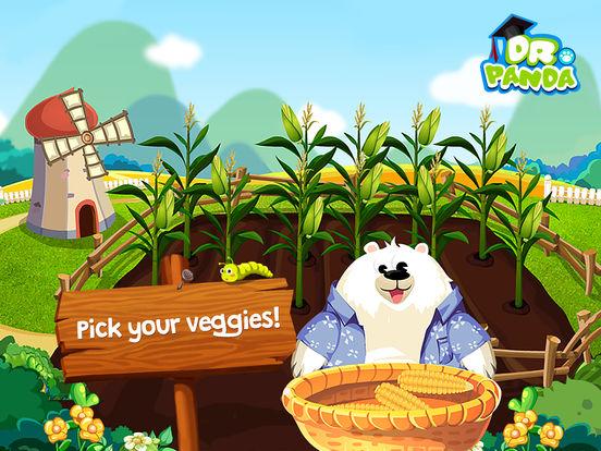 Dr. Panda Veggie Garden Screenshots