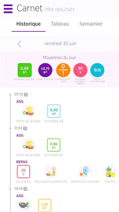 myDiabby - DT1&DT2 screenshot