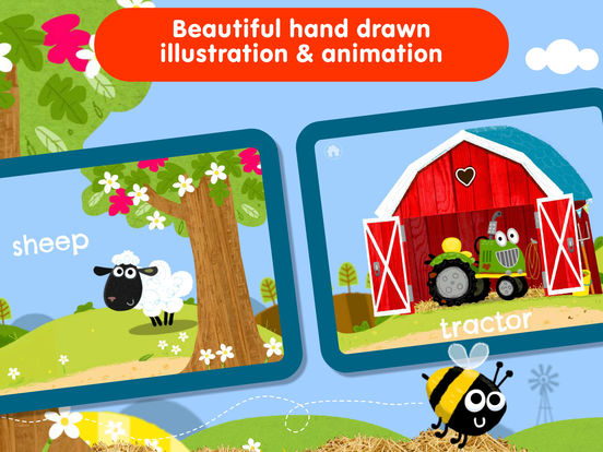 Animal Peekaboo: Baby Games