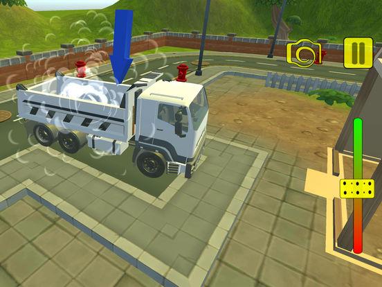 Euro truck cargo construction screenshot 8