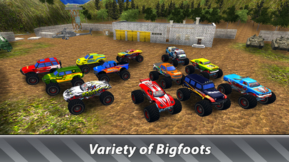 Monster Trucks Offroad Simulator screenshot 3