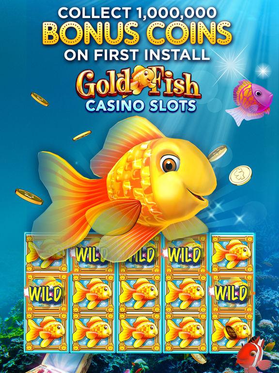 App shopper gold fish slots casino hd games for Fish for money app