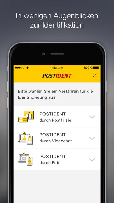 download POSTIDENT apps 1