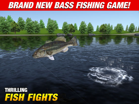 Master bass angler bass fishing game on the app store for Bass pro shop fishing games