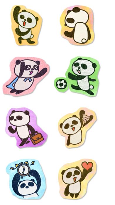Paper Panda Stickers iPhone Screenshot 3