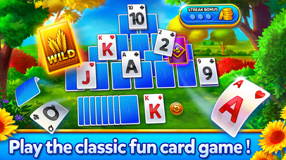 Screenshot 1 Solitaire — Grand Harvest — Classic free card game