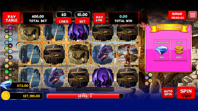 Screenshot 2 Vegas Golden Luck Slots
