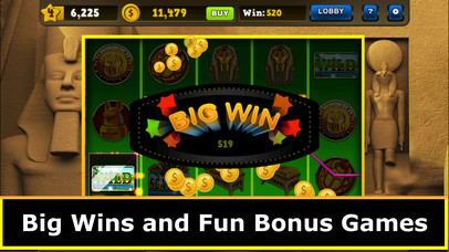 Screenshot 3 Slots — Fortunes of Luxor Egypt Jackpot Casino