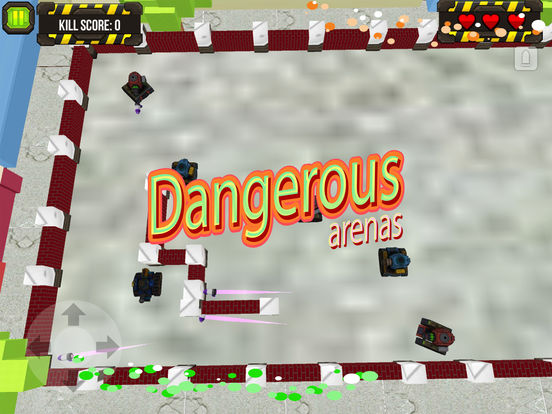 Wars of Tank Hero Metal World screenshot 7