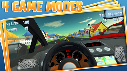 3D Storm Car Racer Street Highway Racing screenshot 2