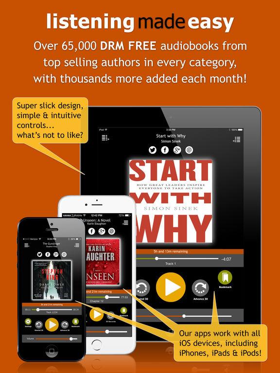 AudiobookSTORE.com - Audiobook Listening Made Easy Скриншоты6