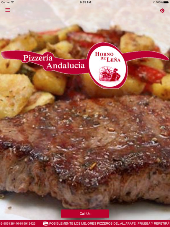 App shopper pizzeria andalucia food drink for Andalucia cuisine
