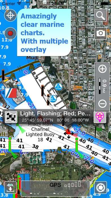 Aqua Map USA HD screenshot 2