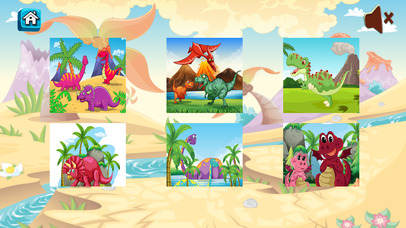 dinosaur world : pre-k puzzle screenshot 3