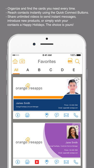 L-Card Pro - An App that may Spell the End for Paper Business Cards Image