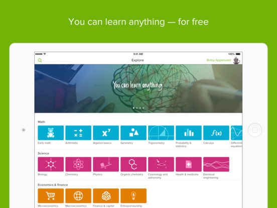 Khan Academy you can learn anything on the App Store – Khan Academy Math Worksheets