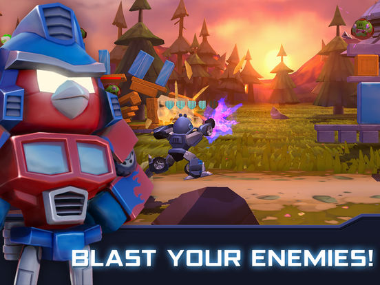 Angry Birds Transformers Screenshots