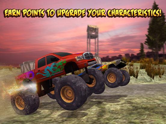 Скачать игру 4x4 Monster Truck Racing